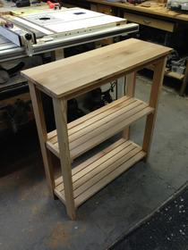 Kitchen storage table