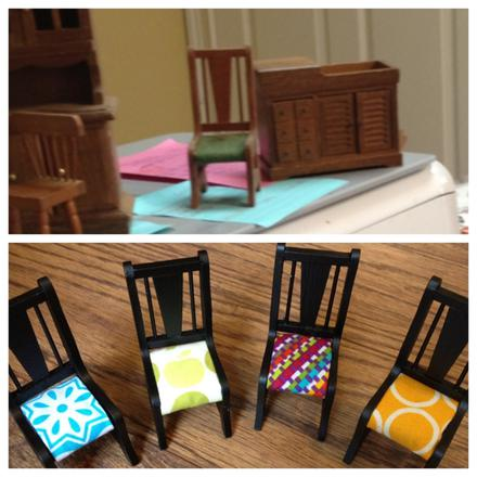 Dollhouse Chairs Upgrade