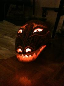 Dragon Pumpkin 2011