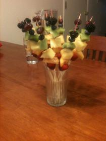 Rainbow Fruit Bouquet