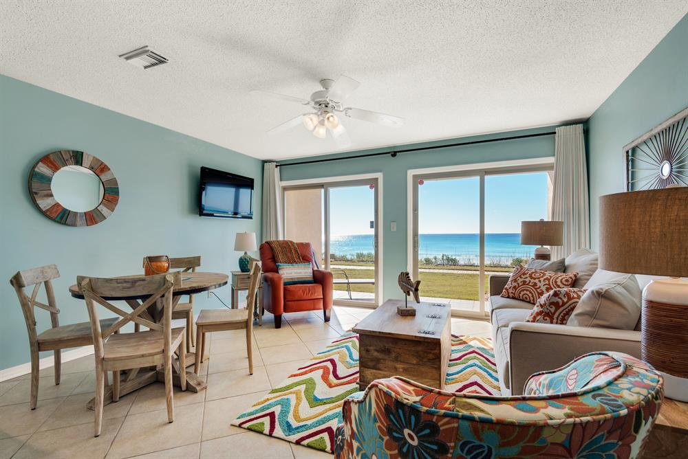 Spring Specials! ~ Beachfront Ground Floor ~ Heated Pool