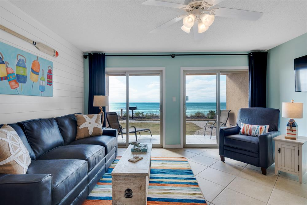 Book Spring Now! ~ Beachfront Ground Floor ~ Heated Pool