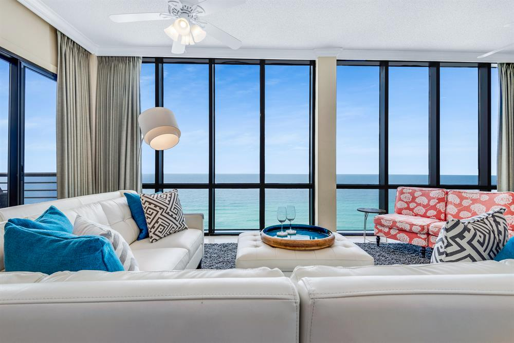 NEW Upscale Luxury!  Renovated Beachfront PENTHOUSE with Amazing Views.