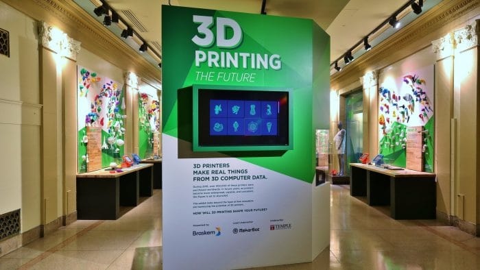 Franklin Institute and MakerBot Partner for 3D Printing Exhibit, Makeathon, and Training