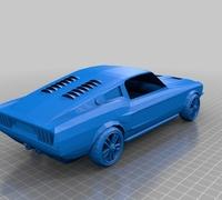 Mustang 3D models for 3D printing | makexyz com