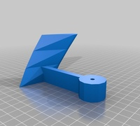 Vertical axis wind turbine 3D models for 3D printing