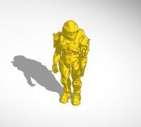 Halo grunt 3D models for 3D printing | makexyz com