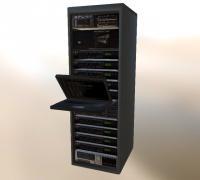 Server rack 3D models for 3D printing | makexyz com