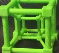 hypercube 3d drucker