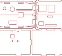 Raspberry pi camera mount 3D models for 3D printing | makexyz com