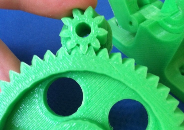 Greg's Wade Reloaded Extruder with Fishbone Gears | makexyz com