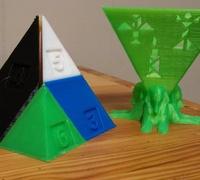 Tangram 3D models for 3D printing | makexyz com