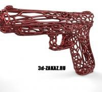 Glock gen4 grip plug 3D models for 3D printing | makexyz com