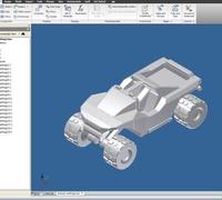 Halo warthog 3D models for 3D printing | makexyz com
