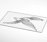 Eagle 3D models for 3D printing | makexyz com