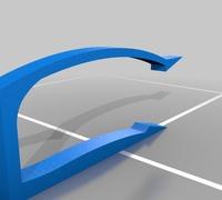 Plastic bag holder 3D models for 3D printing | makexyz com