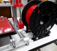 Roller bearing spool holder 3D models for 3D printing   makexyz com