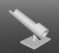 Fishing rod holder 3D models for 3D printing | makexyz com