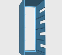 Pi rack 3D models for 3D printing | makexyz com