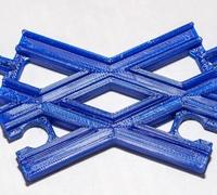 Wooden train track 3D models for 3D printing | makexyz com