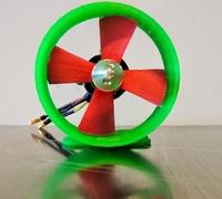 Parametric propeller 3D models for 3D printing   makexyz com