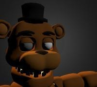 Unwithered freddy 3D models for 3D printing | makexyz com