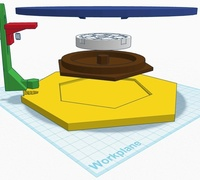 Kinect turntable and mount for 3d scanning first ever tinkercad