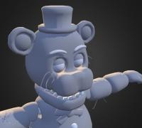 Unwithered freddy by rafa old 3D models for 3D printing
