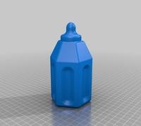 Baby bottle 3D models for 3D printing   makexyz com