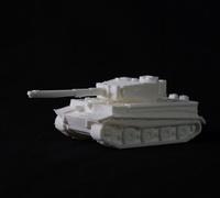 Tiger tank 3D models for 3D printing   makexyz com