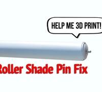 Roller shade fix 3D models for 3D printing | makexyz com