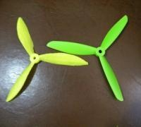 image about 3d Printable Drone identified as Drone propeller 3D patterns for 3D printing