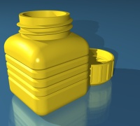 Voss bottle cap 3D models for 3D printing | makexyz com