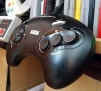 Sega genesis 3D models for 3D printing | makexyz com