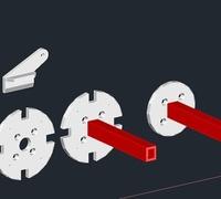 Control horn 3D models for 3D printing | makexyz com