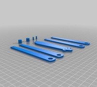Butterfly knife 3D models for 3D printing | makexyz com