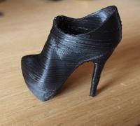 0444de97b4 High heel shoe 3D models for 3D printing   makexyz.com