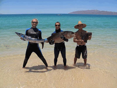 A great day Spearfishing with Baja Spearfishing Adventures