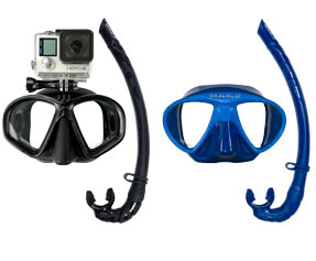 Dive Masks & Snorkels
