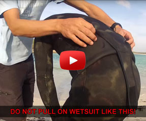 VIDEO: How to take off your two piece wetsuit
