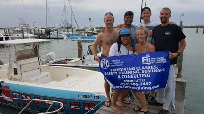 Robert Little - Freedive classes, Safety Training, Seminars & Consulting