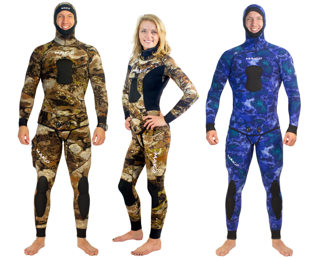 spearfishing wetsuits made with yamamoto neoprene