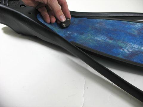 install bottom plate