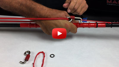 VVIDEO - Installing the Pole Spear Resting Hook