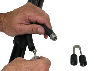 Installing Wishbone Adapter into Power Band