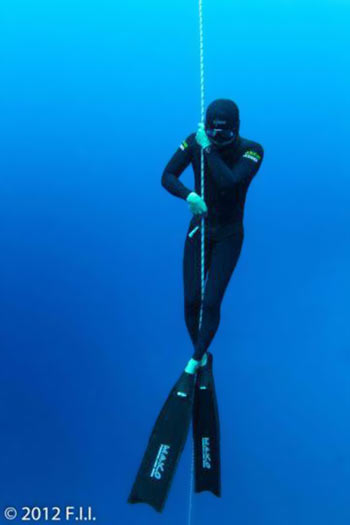 fFreedive Instructor Bobby Kim
