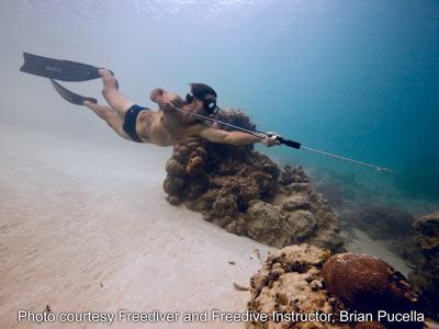 Brian Pucella with MAKO Spearguns Hawaiian Sling