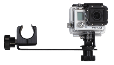 Side Mount Camera Arm (left side and camera mounted above)