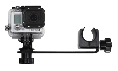 Side Mount Camera Arm (camera mounted above)
