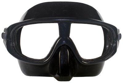 Competitor Competition Training Freedive Mask front view